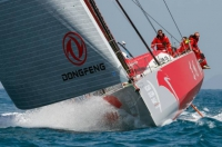 Volvo Ocean  Race - Avarie sur le bateau Franco-Chinois : DONGFENG