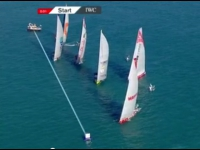 Volvo Ocean Race - La course In Port d'Abu Dhabi ...